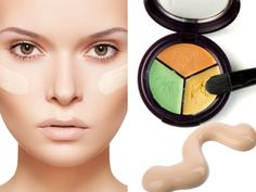 Concealer can be quite confusing at the best of times. even more so if you are just starting out with makeup. Here are a few concealer tips for beginners . Oily Skin Care, Anti Aging Skin Care, Skin Care Tips, Cream Concealer, Simple Makeup, Natural Makeup, Easy Makeup, Beste Concealer, Beauty