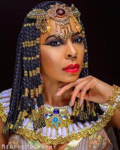 BellaNaija - Queen Cleopatra! TBoss unveils Alter Ego in New Photos