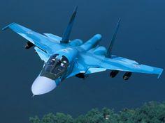 "Russian Sukhoi Su-34 ""Fullback"" attack a/c."