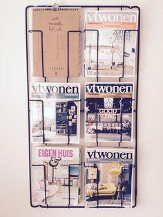 Tijdschriftenrek van www.vtwonen.nl! Erg blij mee..