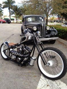 Harley-Davidson | Chopper Inspiration - Choppers and Custom Motorcycles | bobberinspiration October 2014