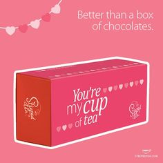 Better then a box of chocolates. ... 6 beautiful, loose leaf teas.. www.queenoftea.com to get yours in time for Valentines Day. #steepedteainc #betterthanaboxofchocolates #love #tea #queenoftea #looseleaf