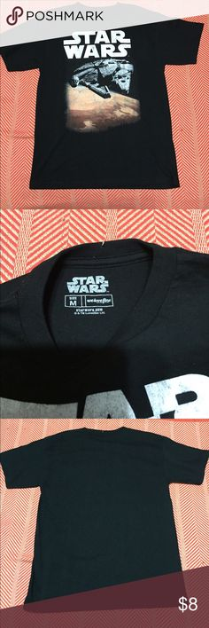 Star Wars  t-shirt Perfect for back to school. Youth size medium new but without tag Tops Tees - Short Sleeve