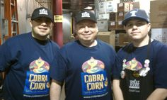 Fans at Whole Foods Chicago Gold Coast. From left Saul, Alvaro and Jerry.