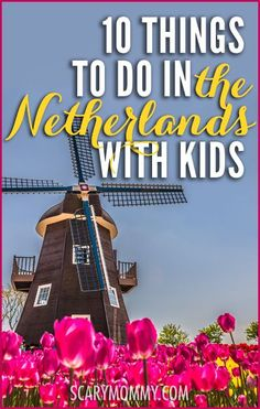 Planning a trip to the Netherlands? You go, you world traveler! Get great tips and ideas for fun things to do with the kids (from a real mom who KNOWS) in Scary Mommy's travel guide!  summer | spring break | international family vacation | parenting advice