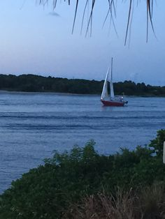 Sailboat In Ft See More Fort Pierce Florida