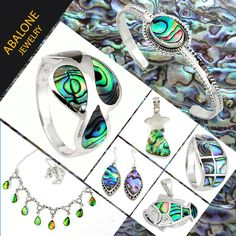 Abalone handmade  Jewelry Collection in Sterling Silver from Jaipur, India. From our home to yours' with love. #india #handmade #sterling #silver #ring #earrings #pendant #necklace #bracelet #natural #jaipur #india #wholesale #rajasthan  #artisan #healing #crystals #gemstone #shell #abalone