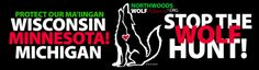 NWA Bumper Stickers now available.  Wolf Icon by Ken Andrews