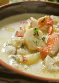 Low FODMAP Recipe and Gluten Free Recipe - Seafood chowder  http://www.ibs-health.com/low_fodmap_seafood_chowder.html