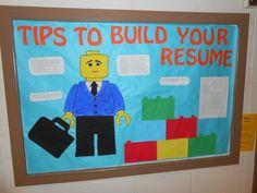 RA Bulletin Board, Lego, Resume Builder