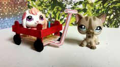 How to Make a Tiny Wagon: Easy LPS Doll DIY