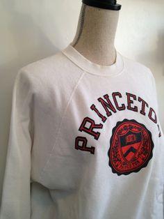 Vintage Princeton University Sweatshirt by 21Vintage on Etsy