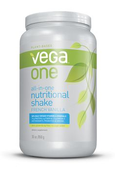 Vega One Nutritional Shakes - All-in-One Dairy-Free Protein, Meal-Replacement and Supplement Mixes (vegan) - #dairyfree (Vanilla is my favorite flavor thus far!)