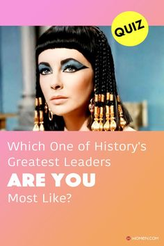 Which historical leader does your personality most resemble: Marie Antoinette, Queen Elizabeth, or Cleopatra? #historicalpersonalityquiz #leaderpersonality #personalityQuizzes #yourpersonality #leadership #whoareyou #aboutme #personality #Quizzes #quizzesfunny #funquizzestotake #me #quizzesaboutyou