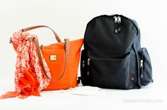 Essential Long Flight Carry On Items ~ Tips for how to decide and what essential items to pack in your carry on bag when preparing for a long flight!