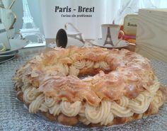 Cocina Sin Problemas: Paris - Brest con relleno de crema pastelera de avellanas