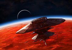 BURNING SUNS - Terran Starbaze by Redan23.deviantart.com on @deviantART