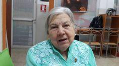 A sus 80 años Luisa Galíndez está activa en varias causas sociales
