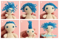 Amigurumi Yarn Hair Tutorial - Different Ways We Could Style the Hair for… Crochet For Kids, Crochet Baby, Crochet Hat Size Chart, Doll Patterns, Crochet Patterns, Boucle Yarn, Amigurumi Tutorial, Crochet Bookmarks, Crochet Slippers