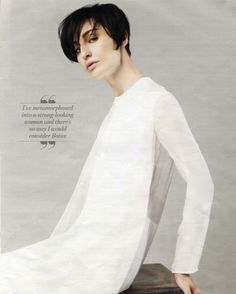 Erin OConnor you magazine wearing CHARLIE MAY
