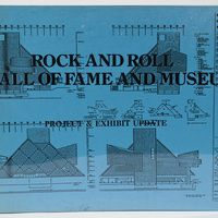 """Ohio University Libraries, Voinovich collections. """"Rock and Roll Hall of Fame and Museum: project and exhibit update."""" :: Ohio University Archives"""