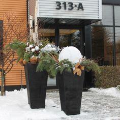 Déco du jardin à Noël : nos idées pour l\'extérieur   Decoration ...