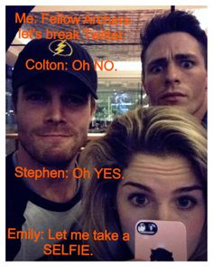 Ok, who doesn't Absolutely adore this cast!! #Arrow