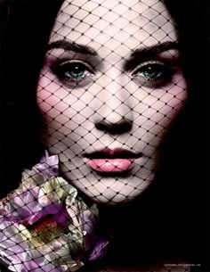 Katy Perry Gets Gothic for LOfficiel Paris September 2012 Cover Story
