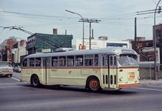 Montreal Urban Community Transit Corporation bus from Old Montreal, Montreal Ville, Montreal Quebec, Heavy Duty Trucks, Big Trucks, Canada, Expo 67, Toronto, Nostalgia