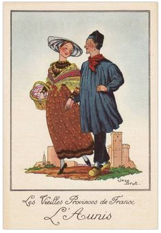Delcampe – La plus grande marketplace pour les collectionneurs French Costume, Folk Costume, Folklore, Vintage Love, Father, Baseball Cards, Embroidery, Drawings, Prints
