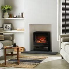 Riva Vision Electric Stove - Buy From Victorian Fireplace Store
