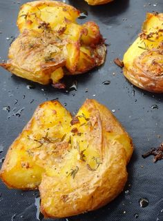 PAPAS  al horno tiernas y crujientes- Les receptes que m'agraden: Patatas al horno tiernas y crujientes - Patates al forn tendres i cruixents