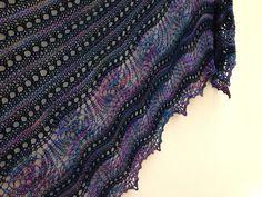 Romi's Mystery Shawl 2014 - Posh Yarn Martha Orphan and Gretchen Loop di Loop Orphan, Shawl, Mystery, Knitting, Cast On Knitting, Tricot, Stricken, Weaving, Knits