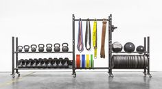 "2-Tier Mass Storage System - 70"" Wide - Rogue Fitness"
