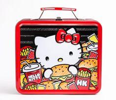 hamburger kitchen products   Hello Kitty Metal Lunch Box: Hamburger [# 00907-201209] - $14.00 ...