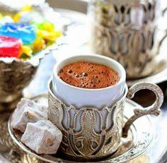 Türk Kahvesi ve Türk Lokumu