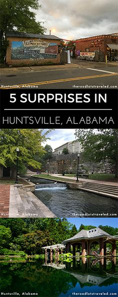 5 Surprises in Huntsville, Alabama: Food, Beer, Entertainment, Green Spaces, and more!