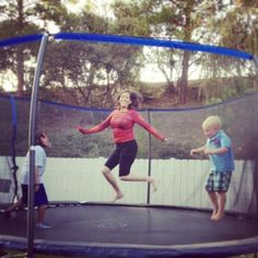 YMX on a trampoline!