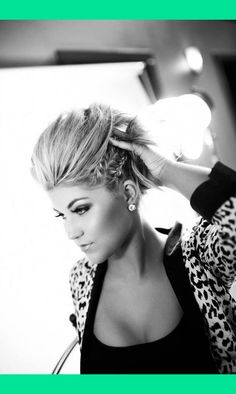 Braided Faux Hawk | Kimberly K.'s (peacelovestyle) Photo | Beautylish
