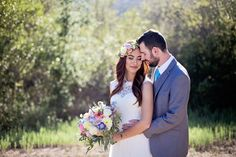 Outdoor Wedding:  Lizel & Andrew | Bommer Canyon, CA - http://www.diyweddingsmag.com/outdoor-wedding-lizel-andrew-bommer-canyon-ca/