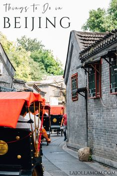 A list of the best things to do in Beijing, China from the Great Wall to street food. Get all the details here! Beijing Food, Beijing Hotels, Beijing China, China Travel, Travel Usa, Travel Tips, Travel Destinations, Travel Photos, Beach Travel