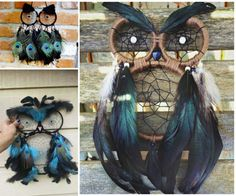 Owl Dream Catcher DIY With Easy Video Tutorial