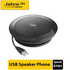 Jabra Speak 510 Plus is Bluetooth and USB compatible speaker connects to your PC, smartphone, tablet, or player and allows you to stream music. Usb Speakers, Wireless Headset, Bluetooth, Microsoft Lync, Dubai, Vector Technology, Cable Management System, Unified Communications, Mp3 Player