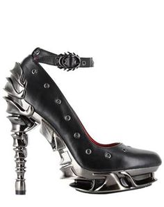 Too Fast Alternative Punk and Rockabilly Style Heels