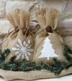 Árvore saco de presente de Natal sino Weihanchtsstern Natal