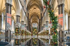 'Magna Flora' Flower Festival 2015 | Salisbury Cathedral