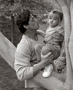 Sylvester Stallone & his daughter AKA ROCKY