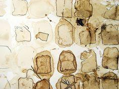 Elizabeth Switzer - tea bag stains - http://crudecrafts.blogspot.com/
