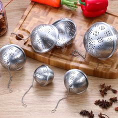 Fusion Teas Tea Tong Infuser for Loose Leaf Tea Stainless Steel