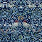 Free printable dollhouse wallpaper - Art Nouveau section